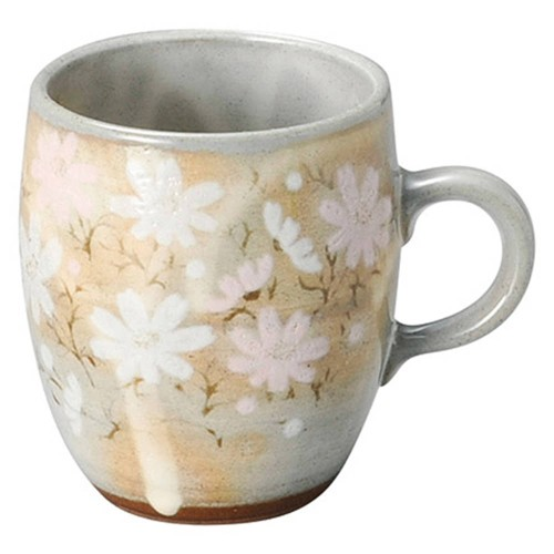 61209-450 御本手秋桜花(コスモス) マグカップ|業務用食器カタログ陶里30号
