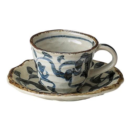 64616-220 たこ唐草 コーヒーC/S|業務用食器カタログ陶里30号