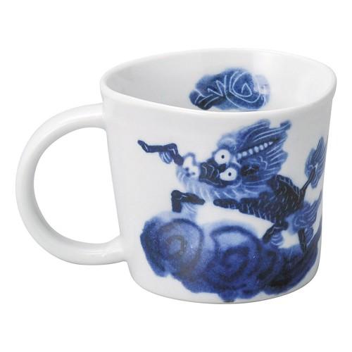 65262-450 古染麒麟-KIRIN- マグカップ|業務用食器カタログ陶里30号