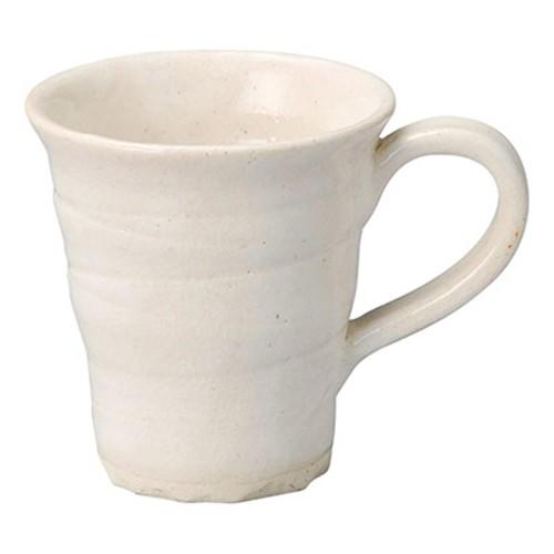66115-180 手造りモダン粉引 マグカップ|業務用食器カタログ陶里30号