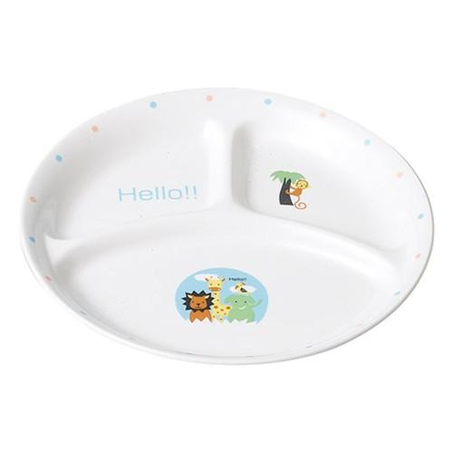 66504-070 ハロ-(給食食器) 仕切皿|業務用食器カタログ陶里30号