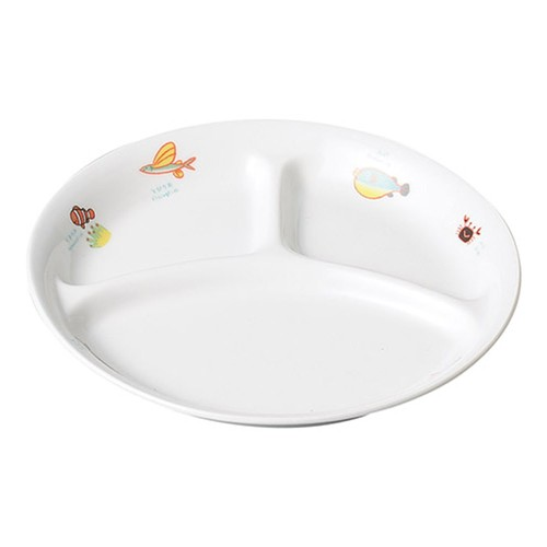 66525-070 シーワールド 仕切皿|業務用食器カタログ陶里30号