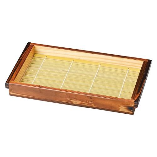 67005-500 焼杉・板そば(身・竹ス)塗装付小|業務用食器カタログ陶里30号