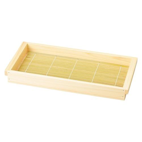 67008-500 檜・板そば(身・竹ス) 塗装付大|業務用食器カタログ陶里30号
