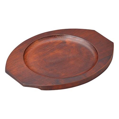 67216-550 [木][ウ]グラタン皿台丸 小|業務用食器カタログ陶里30号