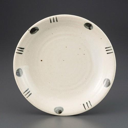69808-410 紺実十草8.5パスタ皿|業務用食器カタログ陶里30号