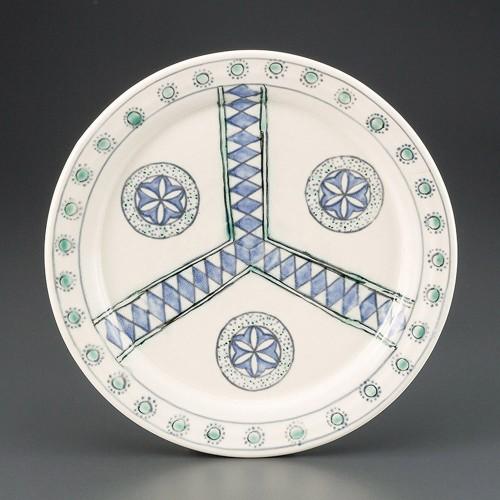 69819-180 ペルシャ紋9.0皿|業務用食器カタログ陶里30号