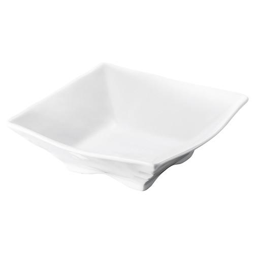70006-180 白四角中鉢|業務用食器カタログ陶里30号