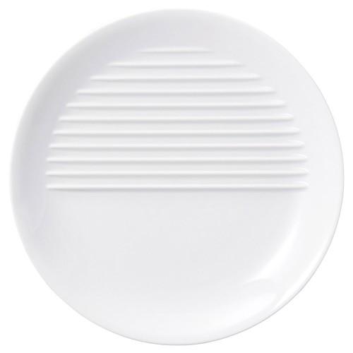 70008-170 agemonoプレート26cm 白|業務用食器カタログ陶里30号