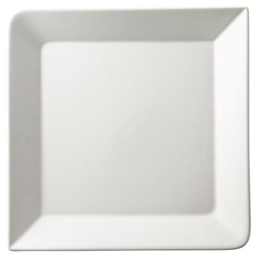 70018-410 白マット正角6.0皿|業務用食器カタログ陶里30号