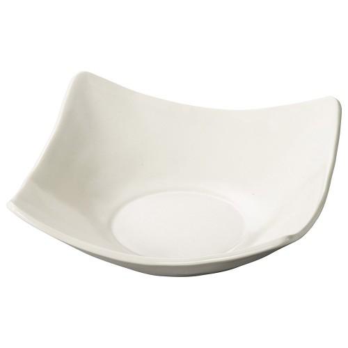 70025-010 白スクエアボールM|業務用食器カタログ陶里30号