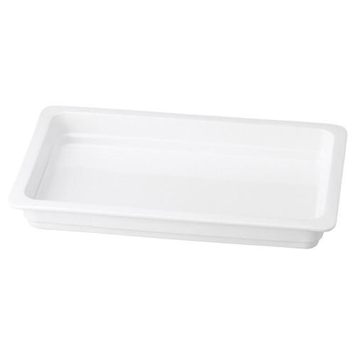 71409-110 バンケットディッシュ1/1 2.5cm 業務用食器カタログ陶里30号