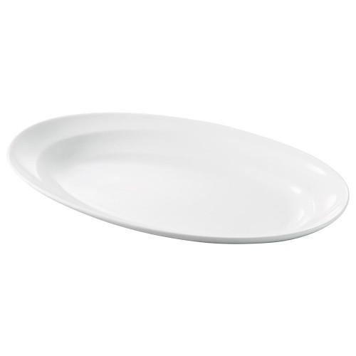 71509-180 モダンライン12吋オーバルスーププレート 業務用食器カタログ陶里30号
