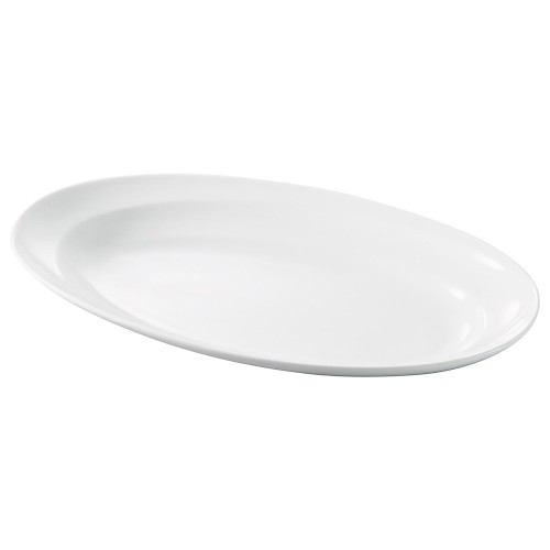71510-180 モダンライン14吋オーバルスーププレート 業務用食器カタログ陶里30号