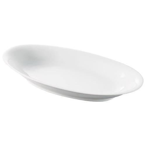 71514-170 白業務用食器14吋セロリー皿 業務用食器カタログ陶里30号