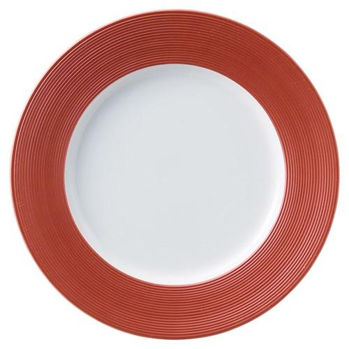72228-110 グランシェフ INF27.5cmプレート(RD) 業務用食器カタログ陶里30号