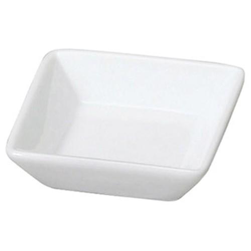 72633-050 スタイルI 白角小皿|業務用食器カタログ陶里30号