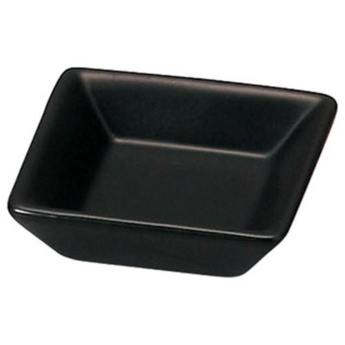 72634-050 スタイルI 黒角小皿|業務用食器カタログ陶里30号