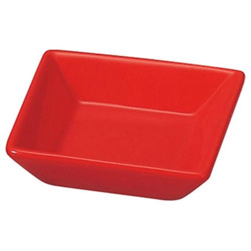 72635-050 スタイルI 赤角小皿|業務用食器カタログ陶里30号