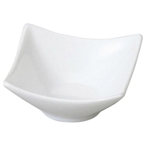 72636-050 スタイルI 角鉢1P(白)|業務用食器カタログ陶里30号