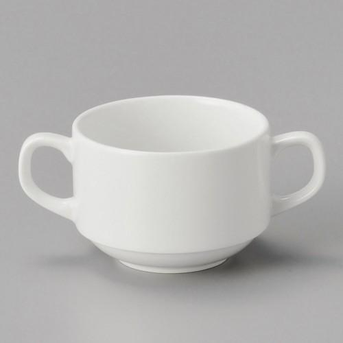 73343-330 ダイヤセラム(強化) スタック両手碗のみ 業務用食器カタログ陶里30号