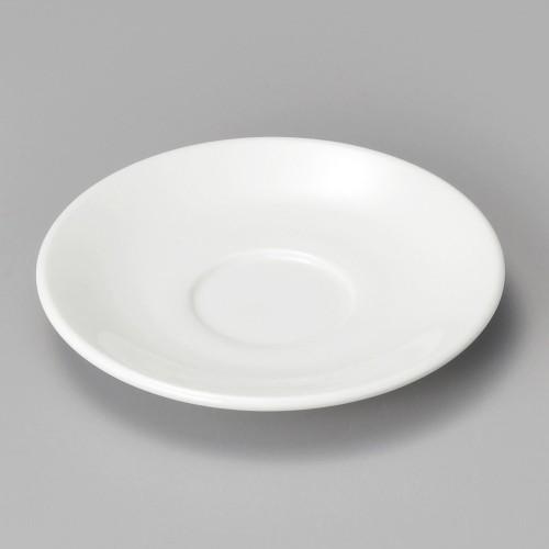 74424-180 アイリス(ホワイト) 受皿|業務用食器カタログ陶里30号