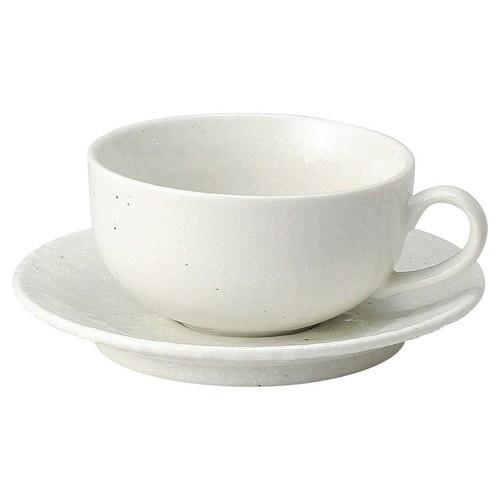 74532-050 白粉引(黒い斑点) スープ碗のみ 業務用食器カタログ陶里30号
