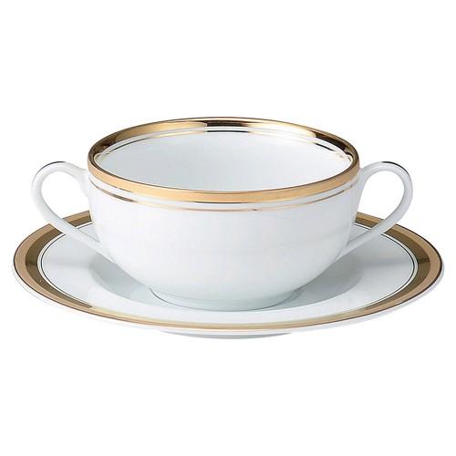 75625-170 ゴールドリッチ ブイヨン碗皿 業務用食器カタログ陶里30号