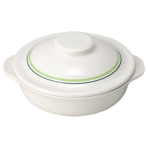 76221-330 グリーンロイヤル キャセロール|業務用食器カタログ陶里30号
