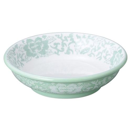 81616-050 ヒスイぼたん 5.5吋深口皿|業務用食器カタログ陶里30号