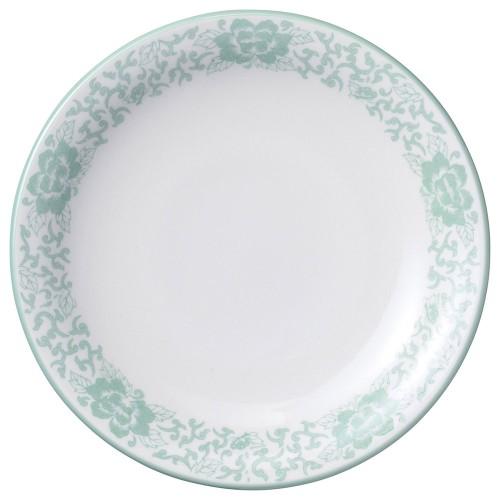 81617-050 ヒスイぼたん 8.5吋丸皿|業務用食器カタログ陶里30号