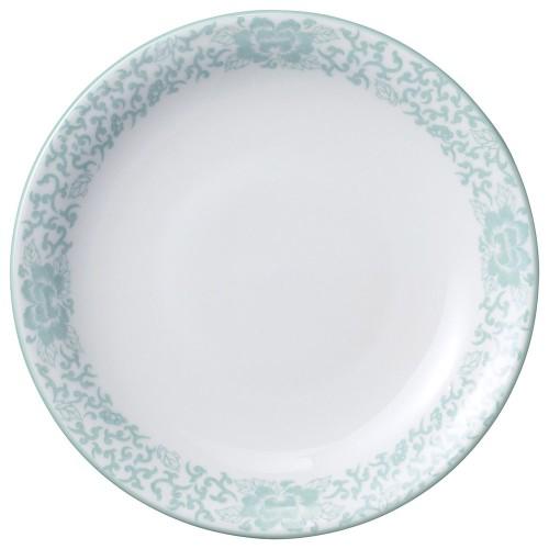 81618-050 ヒスイぼたん 9吋丸皿|業務用食器カタログ陶里30号