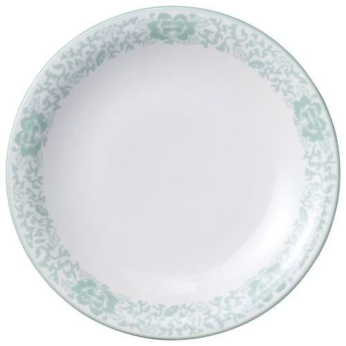 81619-050 ヒスイぼたん 10吋丸皿|業務用食器カタログ陶里30号