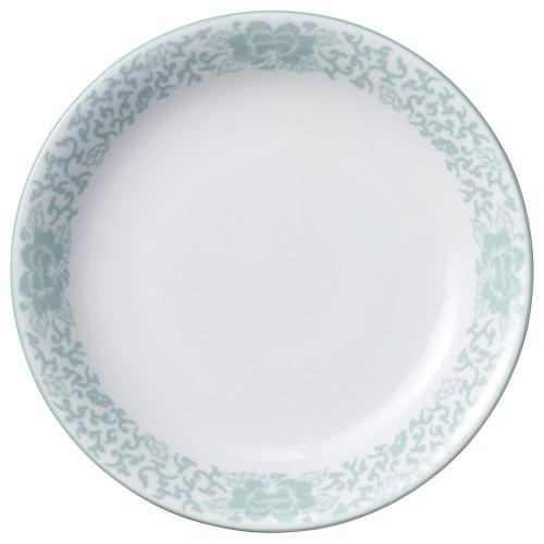 81626-050 ヒスイぼたん 7.5冷麺皿|業務用食器カタログ陶里30号