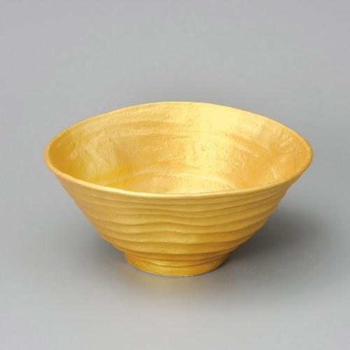 84808-080 ゴールド変形7寸丼|業務用食器カタログ陶里30号