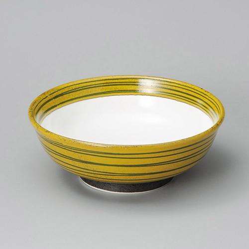 84819-160 黄柚子7.0腰張丼|業務用食器カタログ陶里30号