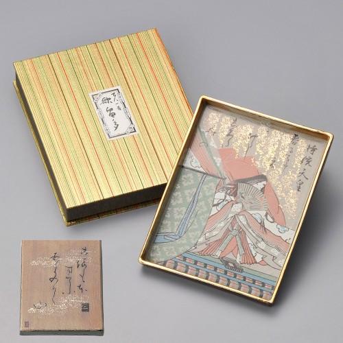 86901-100 百人一首大皿(持統天皇)|業務用食器カタログ陶里30号
