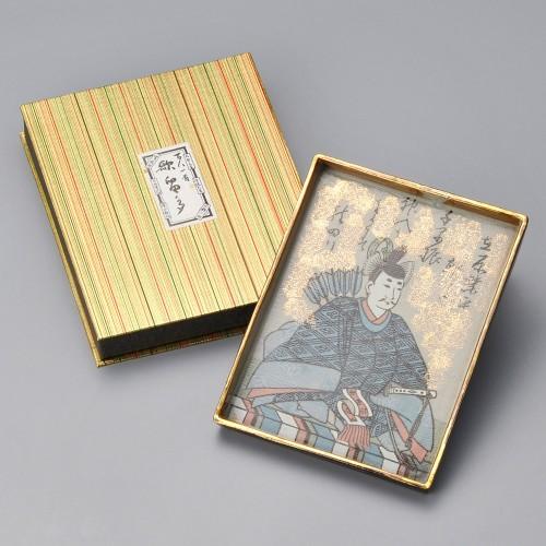 86902-100 百人一首大皿(在原業平)|業務用食器カタログ陶里30号