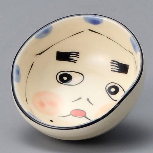 86916-100 新ひょっとこ盃|業務用食器カタログ陶里30号