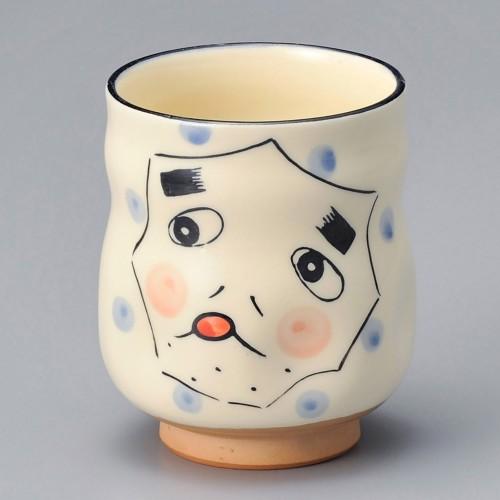 86918-100 新ひょっとこ寿司湯呑|業務用食器カタログ陶里30号