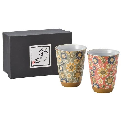 87101-070 千寿ビスクフリーカップ・ペアー|業務用食器カタログ陶里30号