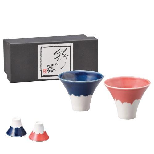 87107-070 富士盃 ペアー|業務用食器カタログ陶里30号