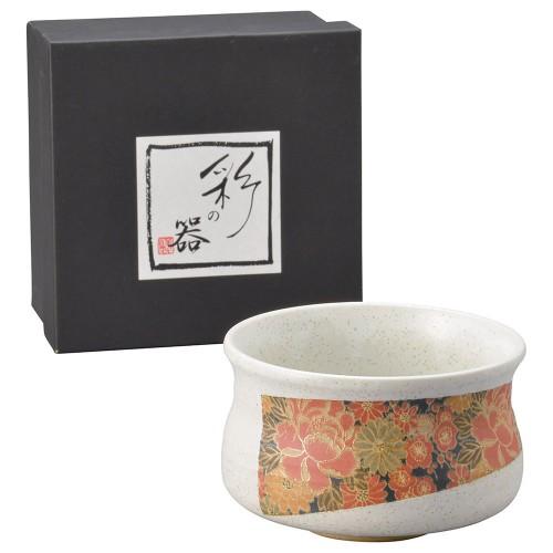 87112-070 白釉四季友禅 抹茶|業務用食器カタログ陶里30号