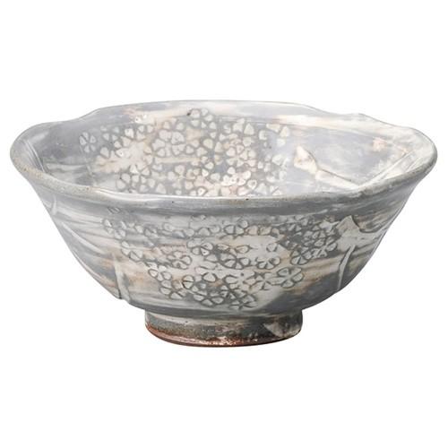 87216-450 三嶋手紫陽花茶盌(木)菊陶作|業務用食器カタログ陶里30号