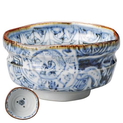87219-080 祥瑞福良碗(貼箱)|業務用食器カタログ陶里30号