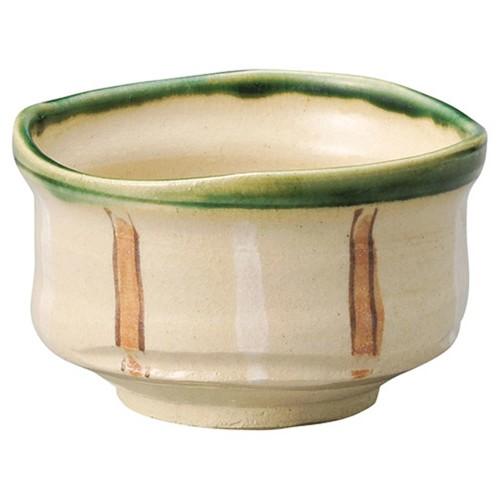 87225-330 渕織部十草抹茶碗(化)|業務用食器カタログ陶里30号