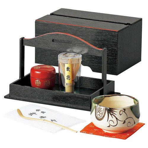 87406-450 手提茶箱揃|業務用食器カタログ陶里30号