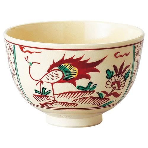 87410-450 間取鳳凰茶盌(化)|業務用食器カタログ陶里30号