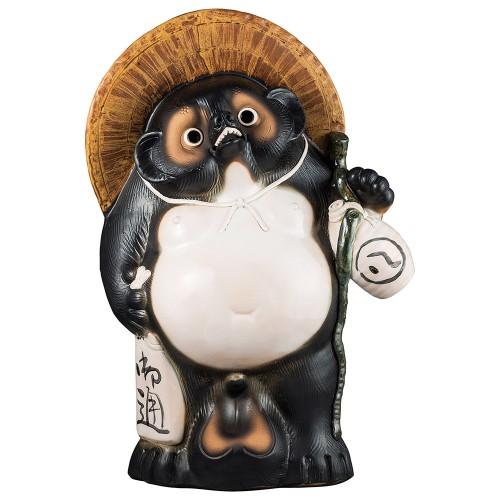 87501-430 30号 福ひねり狸|業務用食器カタログ陶里30号