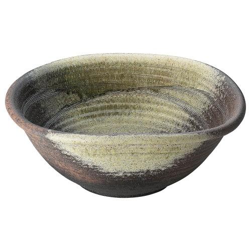 87615-430 17号古陶たわみ水鉢 業務用食器カタログ陶里30号